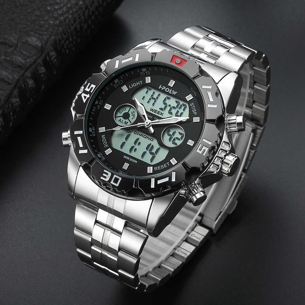 Mens שעונים הדיגיטלי LED למעלה מותג יוקרה שעון Chronos מעורר G ספורט שעון גברים הלם שעון שעון Relogio Masculino