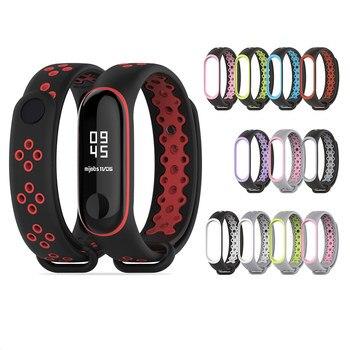 2020 New Watch Strap For Xiaomi mi band 3/4 Belt Sport Bracelet MI 3 4 Smart Silicone