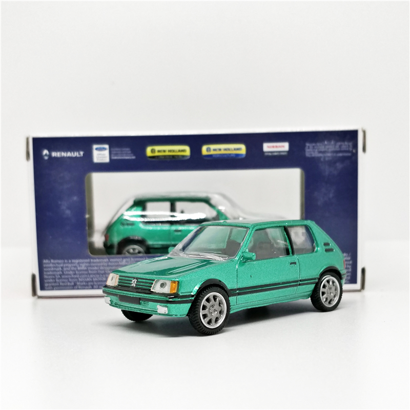 Norev 1:54 Peugeot 205 GTI Green Diecast Model Car