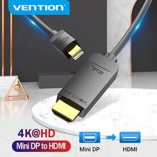 Vention Mini DisplayPort na kabel HDMI 4K HD Thunderbolt 2 konwerter HDMI na telewizor MacBook Air 13 iMac Mini DP na kabel HDMI