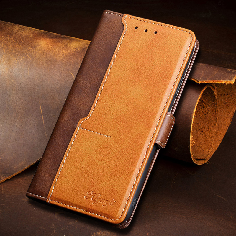 Leather Flip Cover Voor Nokia C1 8.1 8 7.2 7.1 7 6.2 6.1 6 5.1 4.2 3.2 3.1C 3.1A 3 2.3 2.2 2 1.3 1 Plus 2018 Case Wallet Cover