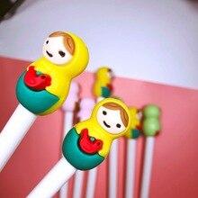 36pcs/set Cartoon Color Doll Gel Pen Wholesale Girl Office Signature Birthday Gift