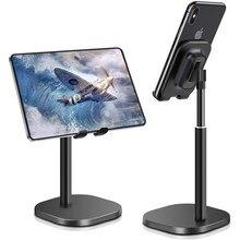 Support télescopique de Support de bureau de tablette de téléphone intelligent de luxe pour l'iphone 11 Samsung Huawei Xiaomi Oneplus Support en métal de téléphone portable