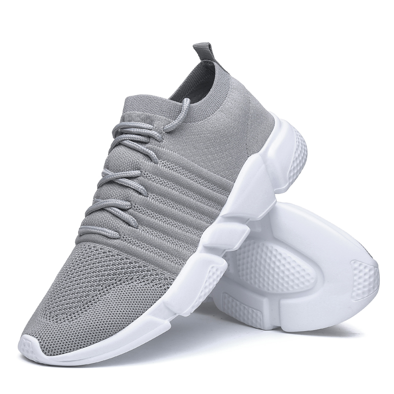 NeeKer Shoes Breathable Sport Shoes for Men Sneakers for Outdoor Jogging Walking Shoe Big Size 39-47