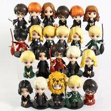Hermione Granger Ron Weasley Draco Malfoy Severus Snape Luna Q Version PVC figurines jouets 5 pièces/et
