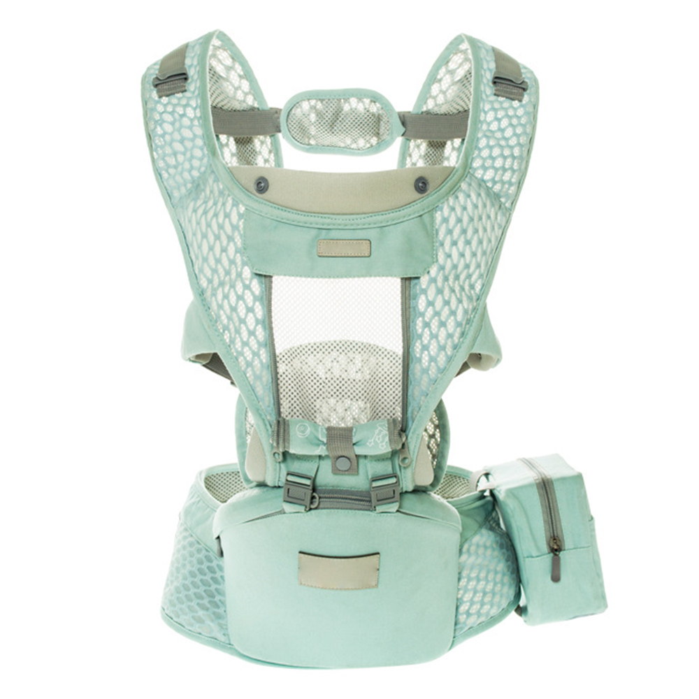 Multifunction Ergonomic Baby Carrier Breathable Mesh Waist Stool Adjustable Prevent O Type Legs Newborn Sling Hipseat Belt J71