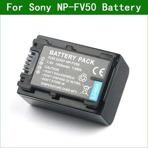 LANFULANG NP-FV50 NP FV50 NPFV50 Digital Battery for Sony NP-FV30 NP-FV40 NP-FV70 NP-FV100 NP-FV50A NP-FV70A NP-FV100A