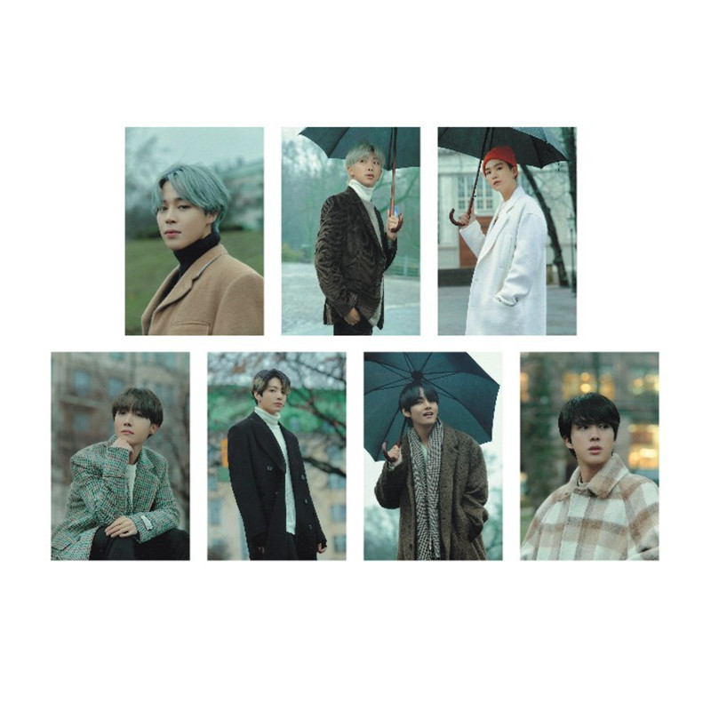 Hot KPOP Bangtan Boys Album Winter Photo Collection Card Photocard Cards LU6971