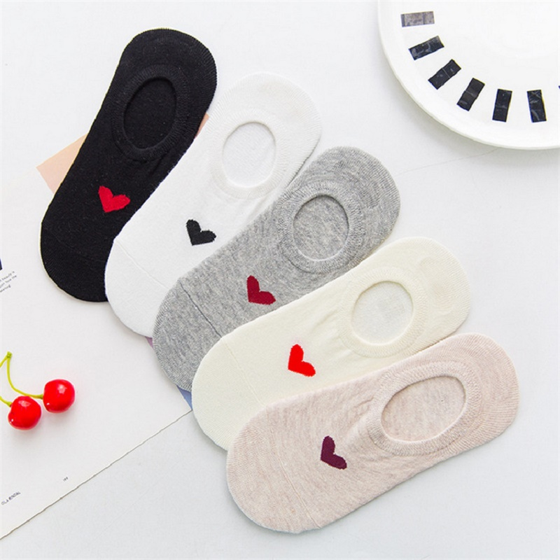 Women Socks Hot Fashion Boat Socks Antiskid Invisible Socks Breathless All Match Cute Socks All Cotton