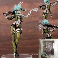 15cm hot anime Sword Art Online (SAO) Sinon action figure Gun Gale Online (GGO) characters Shino Asada toys