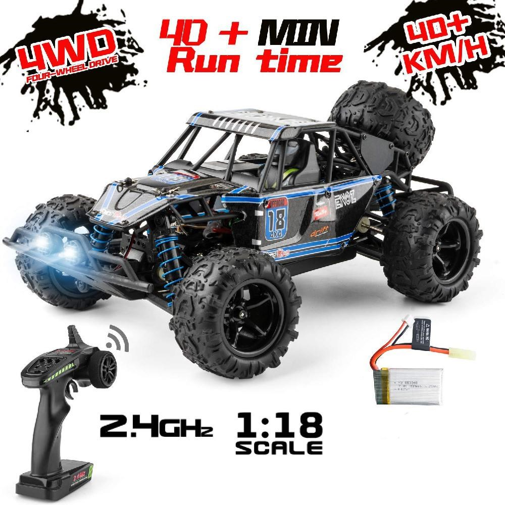 1:18 RC Car 2.4G High Speed 40+km/h Fast 4WD Remote Controll Car RC Toys Drift Off-road Vehicle SUV Truck For Children Kids