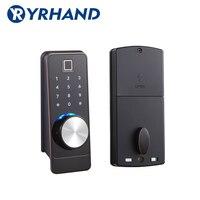 TT замок приложение умный отпечаток пальца дверной замок, электронный Засов безопасности безопасный Bluetooth RFID Клавиатура цифровой дверной за...