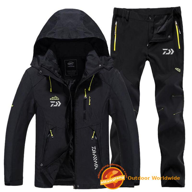 Quick-Drying-Pants Fishing-Suit Daiwa Outdoor Sports Men's Sunscreen Breathable title=