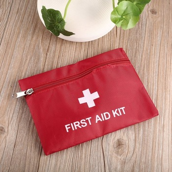 1.4L Portable First Aid Kit Bag Travel Emergency Rescue Medical Bag Outdoor Camping First Aid Kits Drop Shipping survival red waterproof 2l first aid bag emergency kits empty travel dry bag rafting camping kayaking portable medical bag