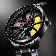 Мужские наручные часы nibosi водонепроницаемые с ободком для