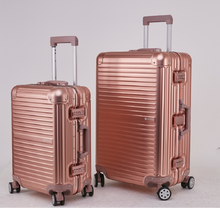 """Delicate design 20"""" 24"""" 28"""" 100% Aluminum trolley suitcase Metal luggage set in stock (1pc 20Inch)"""