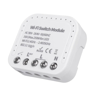 Image 2 - Tuya/ Ewelink חכם Wifi מתג מודול DIY מפסק App בקרת 16A תמיכה חיצוני חכם מתג עובד עם Alexa google בית