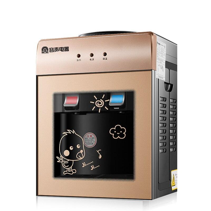 Ice Hot Water Dispenser Desktop Cooling Heat Household Mini Small Energy-saving Glass Ice Warm Water Machine