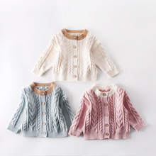 Baby Girl Winter Clothes Sweater Knitted Cardigan B