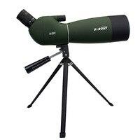 SVBONY SV28 50/60/70 мм 3 типа Зрительная труба Водонепроницаемый зум телескоп + штатив мягкий чехол для наблюдения за птицами цель стрельба из лука ...