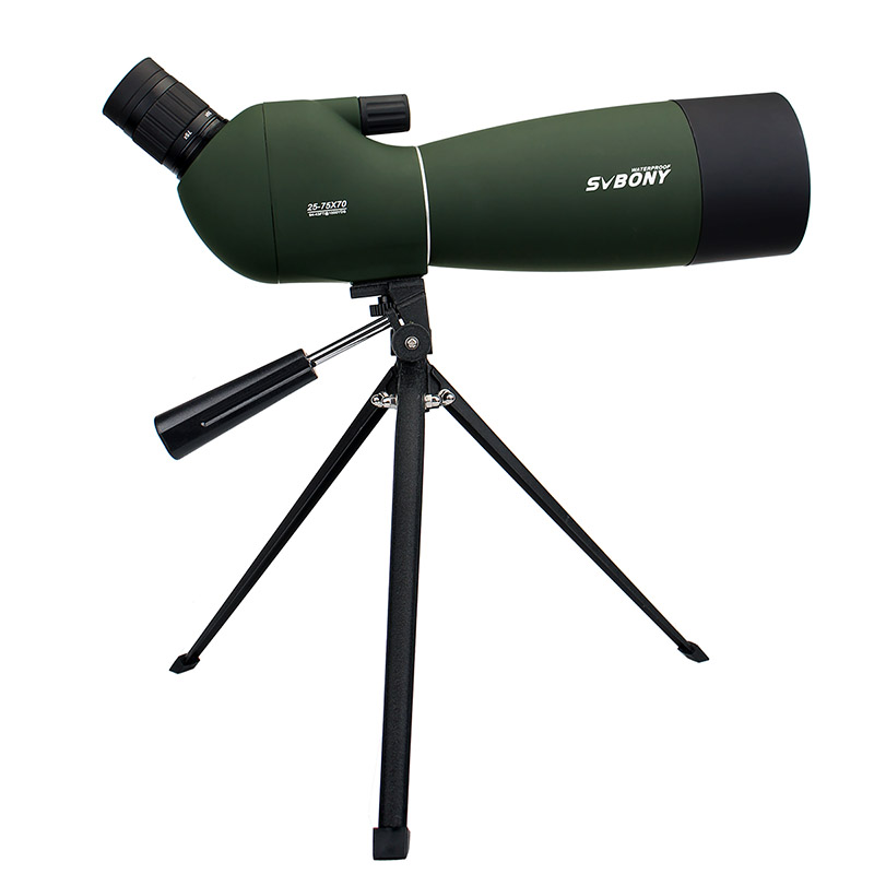 SVBONY SV28 50/60/70 ミリメートル 3 タイプスポッティングスコープ防水ズーム望遠鏡 + 三脚用バードウォッチングターゲットアーチェリー F9308Z