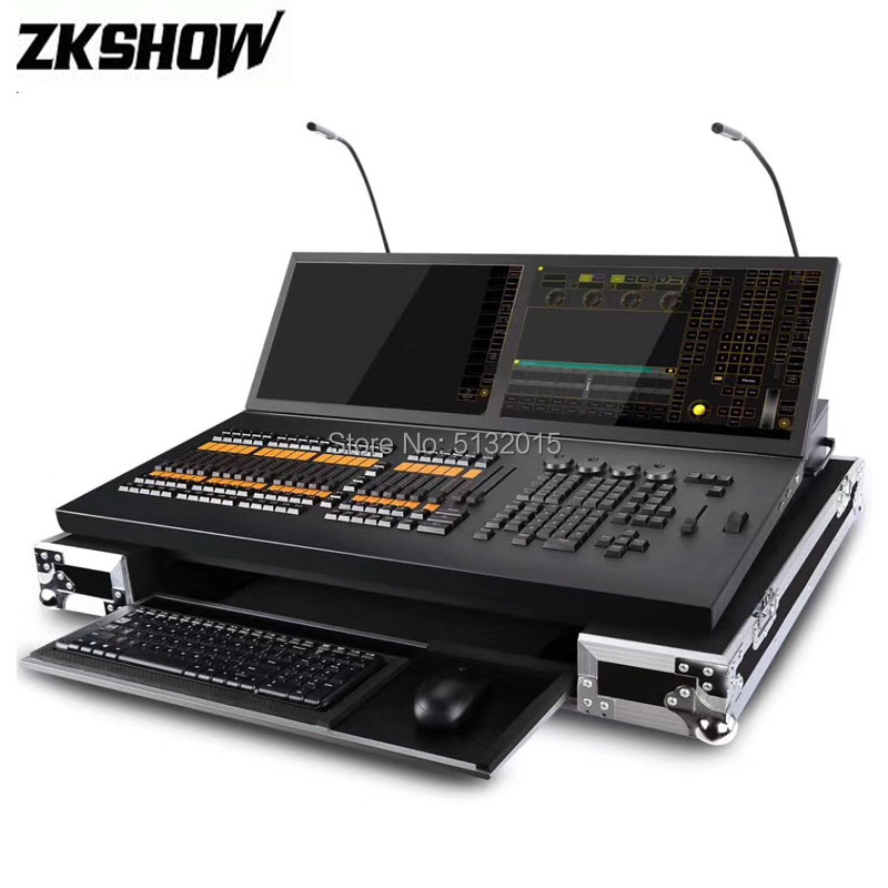Grand MA Light Console MA2 Pro Version Black Horse DMX512 Stage Lighing Controller ONpc Software For Moving Head Light Fixture