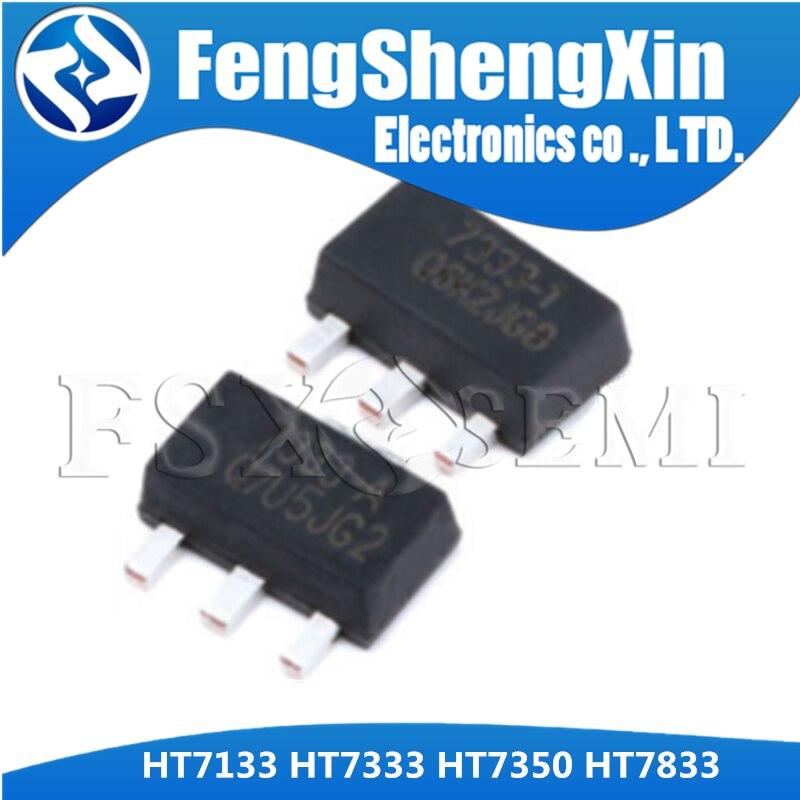 10PCS HT7133 HT7333 HT7350 HT7833 SOT-89  Low Power Consumption LDO
