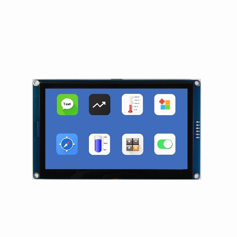 New 2.8 Inch 3.5 Inch 4.3 Inch 5.0 Inch HMI I2C IIC LCD Display Module Capacitive Touch Screen 480x320 For Arduino