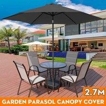 Canopy Patio-Awning SUN-SUN-SHELTER Garden Parasol Waterproof Outdoor 270cm 6-Bones Anti-Uv