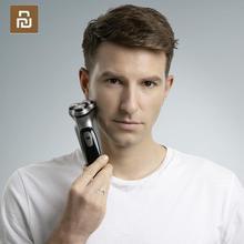 Newest xiaomi enchenブラックストーン3Dシェーバーかみそり機髭ウォッシャブルタイプ c充電式男性ギフトスマート制御