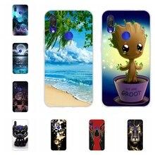 For Xiaomi Redmi 7 Case Ultra-thin Soft TPU Silicone Cover Cute Patterned Funda Bumper