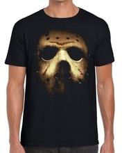 Jason Voorhees Halloween Mask Friday 13th Horror T-Shirt