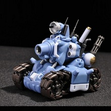 Plastic-Kit Assemble-Model Tank-Armored Slug Building-Kit:metal 1:35-Scale Full-Action