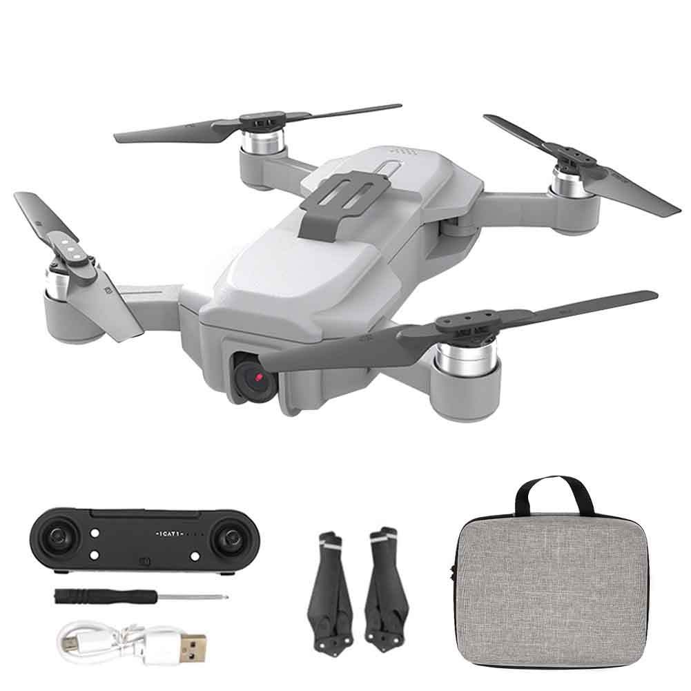 lowest price One Key Return WIFI Foldable Quadcopter Mini 4K Camera GPS Adults RC Drone Brushless Motor Toy USB Charging Headless Mode 2 4GHz