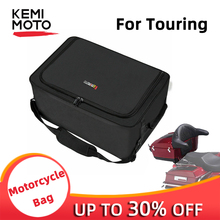 KEMiMOTO Motorcycle oxford fabric Removable Tour Pak Liner Luggage Bag Travel Pak For Touring Road Elecrta Glide 2014-2019 стоимость