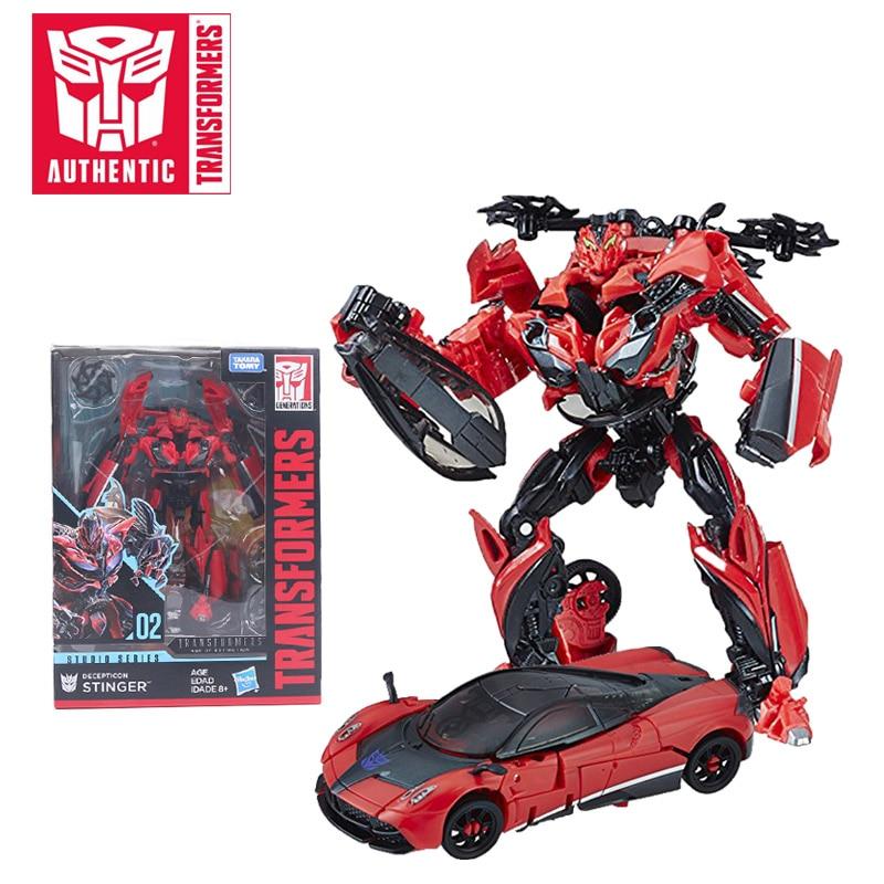 15CM Transformers Toys Transformers Studio Series 02 Deluxe Class Movie 3 Decepticon Stinger PVC Action Figure Collectible Model