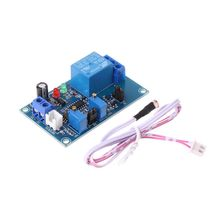 12V Light LED Detect Sensor Photoresistor Plus Relay Module with Timmer Adjust Drop Ship