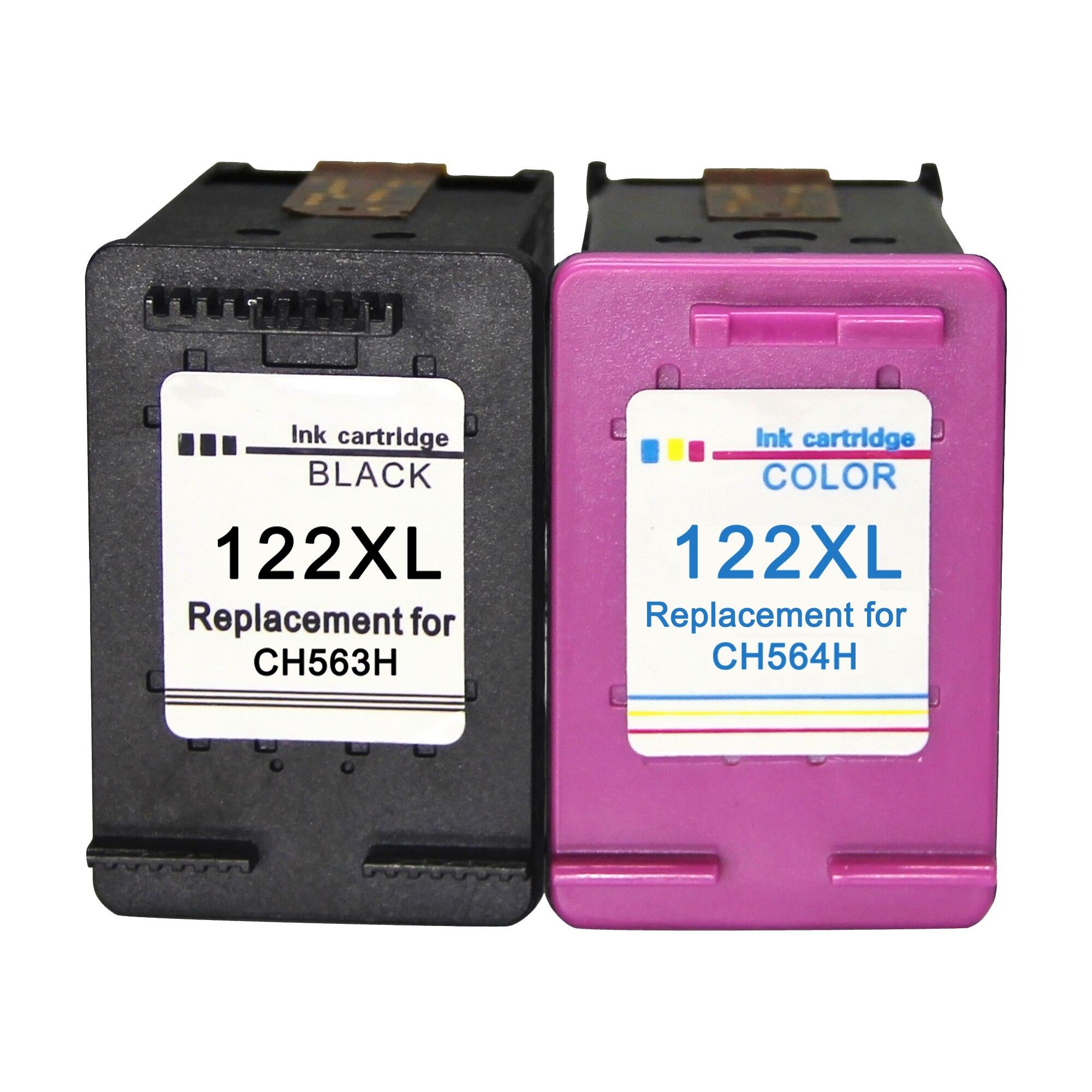 Восстановленные 122XL Совместимый картридж для принтера hp 122 xl hp122 с чернилами hp Deskjet 1000 1050 2000 2050s 3000 3050A 3052A 3054 1010 1510