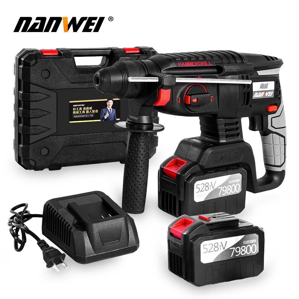 2020 Hot Sale NANWEI Hammer Drill Cordless Drill