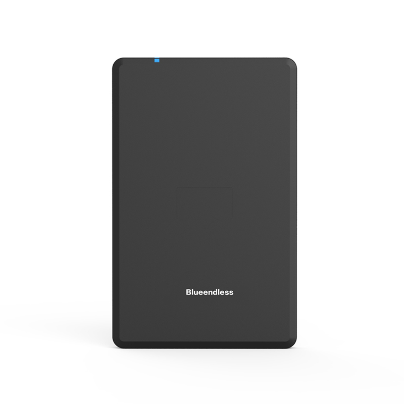 Blueendless 2.5' External Enclosure HDD Case Plastic Sata USB HD Caddy USB Hard Disk Box Laptop External Hard Drive Enclosure