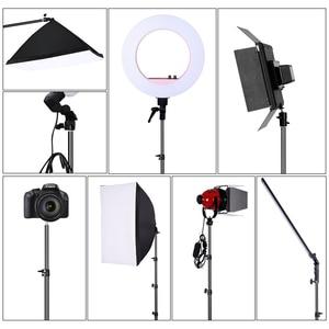 Image 5 - 72 дюйма/184 см фотография 1/4 винтовой складной штатив светильник кольсветильник света, рефлекторов, софтбоксов, зонтов, фона