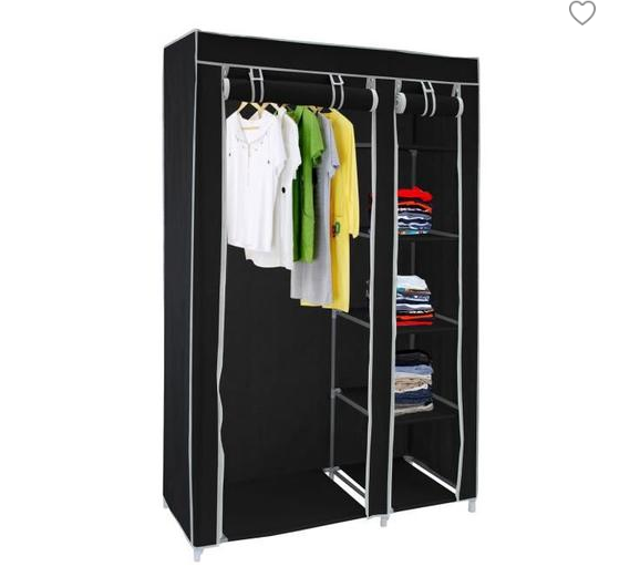 DiscountÛWardrobes Bedroom Portable DIY Fold Non-Woven In-2-10days Delivery