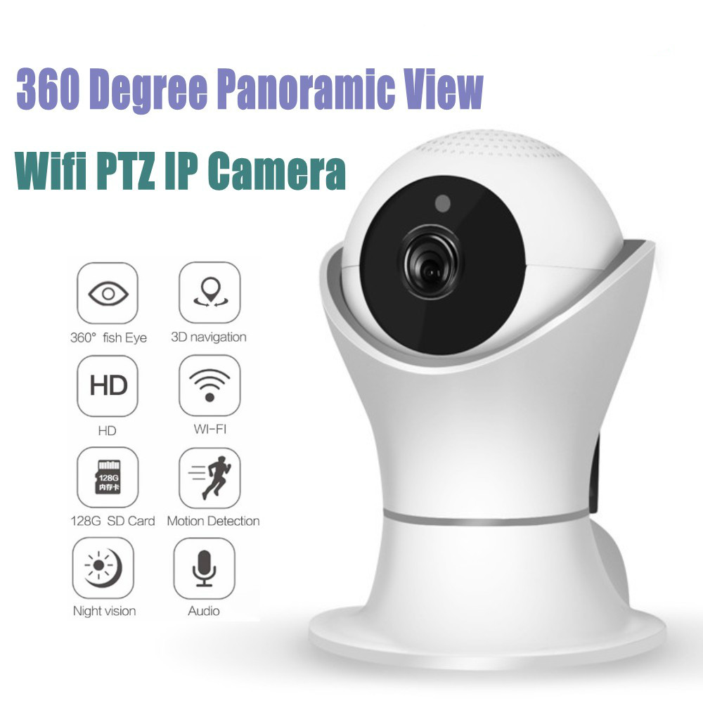 New Model EC39 360 Degree Rotation PTZ Wifi IP Camera 1080P Wireless Network Home Security CCTV Camera 360eye Video Baby Monitor
