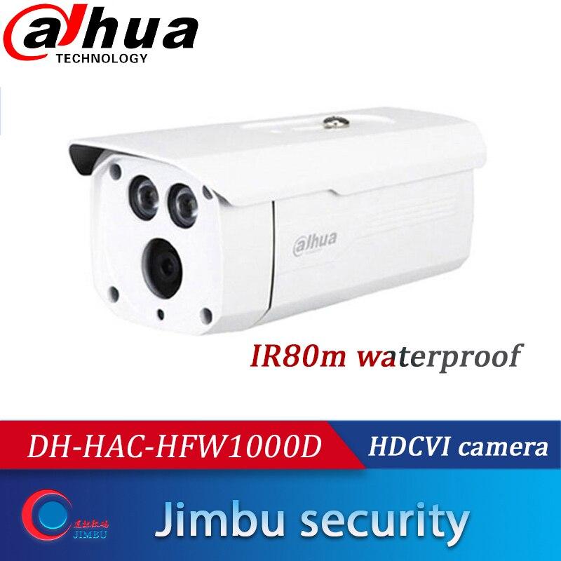 "Dahua 4MP HDCVI IR80m  IP67 Bullet Camera HAC-HFW1400D 3.6mm 1//3/"" CMOS DC12V"