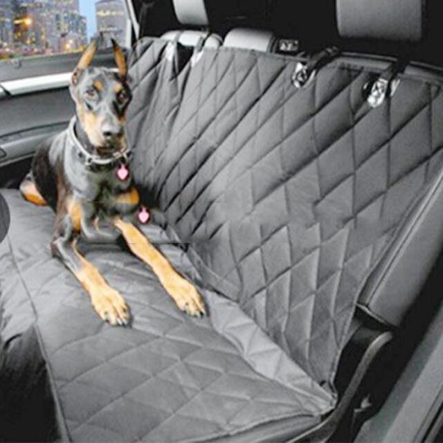 Waterproof Car Hammock Seat Cover Luxury Cushion Protector 1