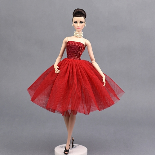 30cm Doll Dress Fashion Clothes suit for licca For Barbie Doll for blythe Accessories Baby Toys Best Girl' Gift 2