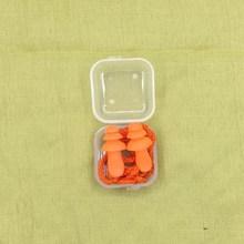 цена на Comfort Earplugs 1Pc Noise Reduction Silicone Soft Ear Plugs PVC Rope Earplugs Protective For Swimming For Sleep