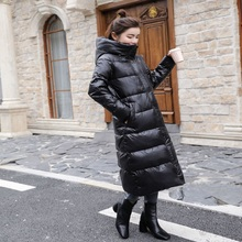 Women's 90% white duck down jacket thick down jacket 2019New winter coat coat hooded women's warm down jacket Doudoune Femme XL
