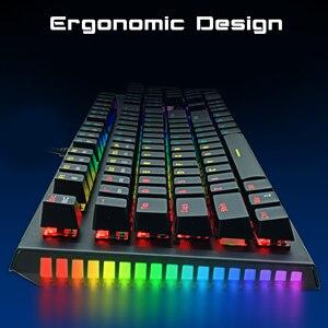 Image 5 - ZUOYAเกมคีย์บอร์ดLED Backlit Anti ghostingสีฟ้า/สีแดง/สีดำสวิทช์คีย์บอร์ดรัสเซีย/ภาษาอังกฤษสำหรับแล็ปท็อป