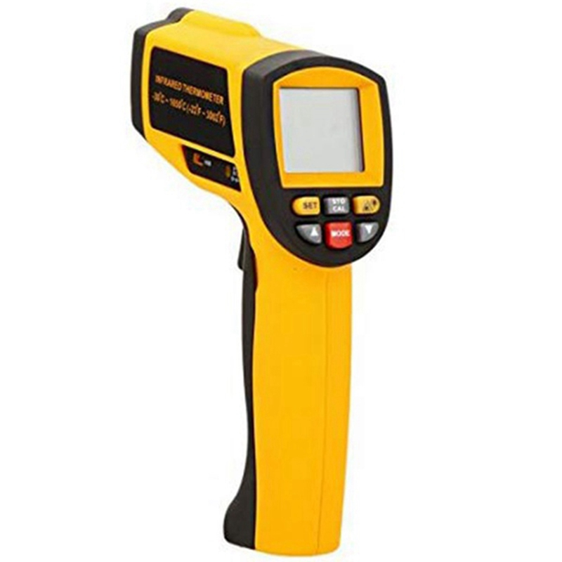 GM1651 LCD Non-Contact 50:1 Digital Infrared IR Thermometer Tester Range -30-1650 Celsius(-22-3002 Fahrenheit)with USB Interface
